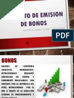 Contrato de Emision de Bonos