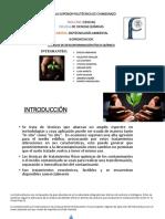 Tecnicas de Descontamiancion Fisico Quimico Petroleo