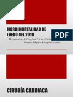 Morbimortalidad Enero 2018