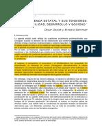 Oszlak, Oscar y Gantman, Ernesto - La Agenda Estatal y Sus Tensiones