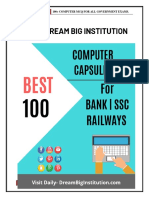 100 Computer MCQ for Bank SSC And Railways..pdf