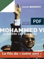 Mohammed VI Derrière Les Masques - Omar Brouksy