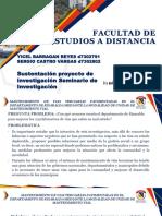 Exposicion Tema Seminario Final - Sergio Castro Yicel Barragan