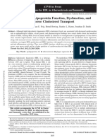 High-Density Lipoprotein Function, Dysfunction, And Reverse Cholesterol Transport