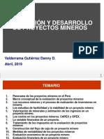 Panorama de Los Proyectos Mineros en El Perú