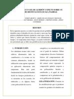 informe de pardeamiento enzimatico