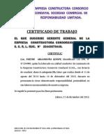 Certifica Do 12