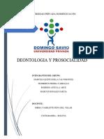 Deontologia Analisis Del Codigo de Etica
