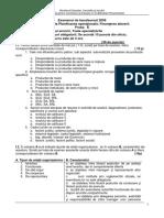 2015 - 2016 MODEL OFICIAL Evaluare Națională Matematică Cu Barem