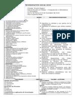 Programacion Anual de Computacion Secundaria Doc