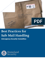 DHS Mail Handling Security