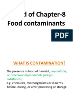 ...Contd chapter 8 contaminants.ppt