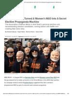 How Modi, Shah Turned a Women's NGO Into a Secret Election Propaganda Machine _ HuffPost India