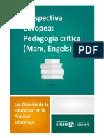 Lectura 2-Perspectiva Europea_ Pedagogía Crítica (Marx, Engels)