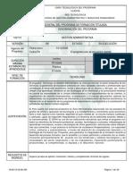 03 Gestion Administrativa__Programa de Formación Titulada