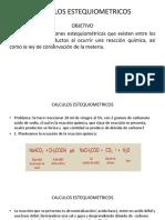CALCULOS ESTEQUIOMETRICOS - 2