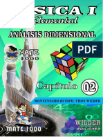 Cap 01 - Ecuaciones Dimensionales FISICA GENERAL PREUNIVERSITARIA