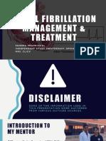 final draft-atrial fibrillation management   treatment