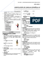 Unidad 05 - Lenguaje - Morfologia de La Lengua Española III Semi