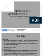 Influence of Informatics in Construction Industry