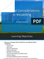 ME458 FEM - L4 - Practical Considerations