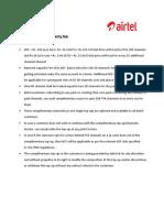 Airtel Alacarte Drp