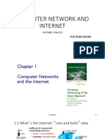Computer Network and Internet Lect 1 Part 1