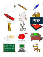 Classroom Objects Sheet Primary