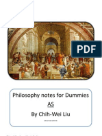 Philosophy Revision Book