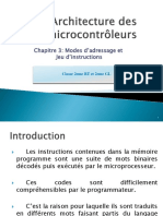 architecture microcontroleurs