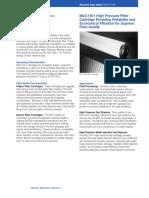 自洁式过滤器故障分析与操作维护策略