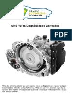 Transmissão GM 6T40 - 6T45 Diagnósticos e Correções C.A.B