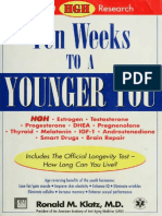 298285545 Ten Weeks to a Younger You Newest HGH Research
