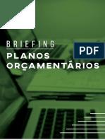 Briefing de Planos Orçamentários