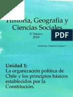 Historia, Geografía y Ciencias Sociales 6°