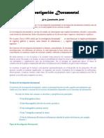 Investigacion Documental METODOLOGÍA