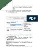 Formatos Que Conforman El Libro de Inventario y Balances