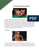 9 Tarian Tradisional Dari Jawa Barat