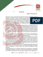 Declaracion 18 de Mayo - Santrich
