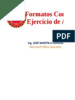 Formato Condicional - Ejercicio de Aplicación