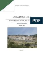 Informe Geol. Las canteras