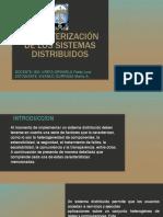 Caracterización de Los Sistemas Distribuidos