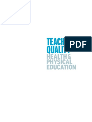 Teaching Quality Health and Physical Education.pdf | Physical ...
