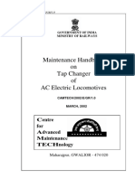 Maintenance Handbook on Tap Changer of AC ELectric Locomotive(2)