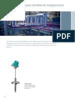 Instrumentos Para Medir La Temperatura, Caudal y El Nivel