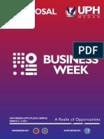 Proposal UPH Medan Business Week 2017