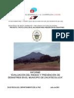 ESTUDIO HIDROLOGICO ZACATECOLUCA
