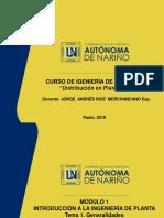 Módulo Ip Tema 1. Generalidades en Ingeniería de Planta
