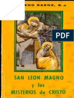 Saenz Alfredo - San Leon Magno y los misterios de Cristo.pdf