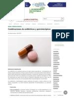Combinaciones de Antibióticos y Quimioterápicos _ Veterinaria Digital